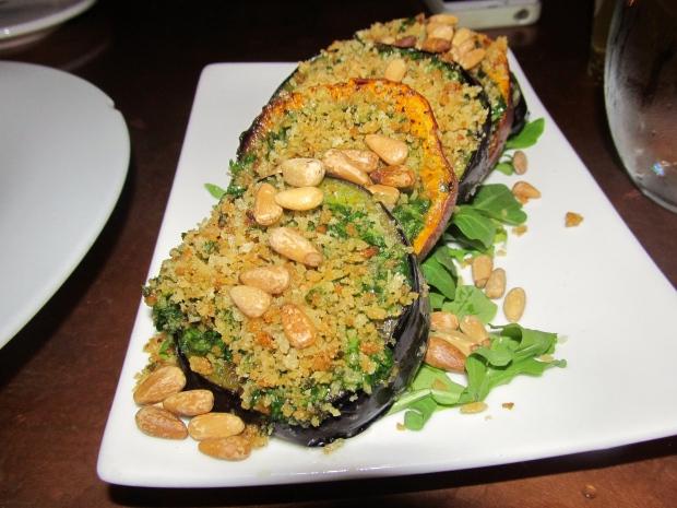 Grilled Eggplant x Roasted Sweet Potato