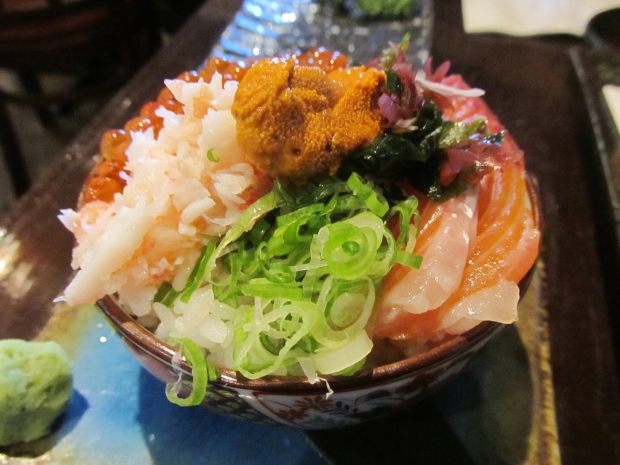 Kaisen Mini Donburi (Seafood Rice Bowl)