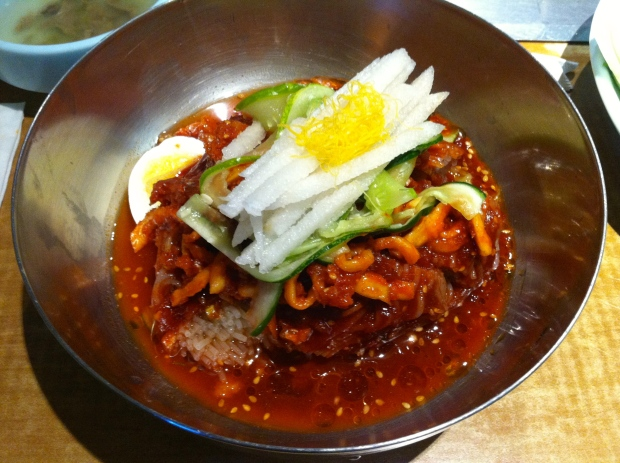 Bibim Naengmyun (Spicy Cold Noodles)
