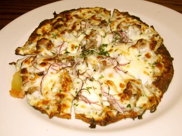 Kimchi Cheese Pizza